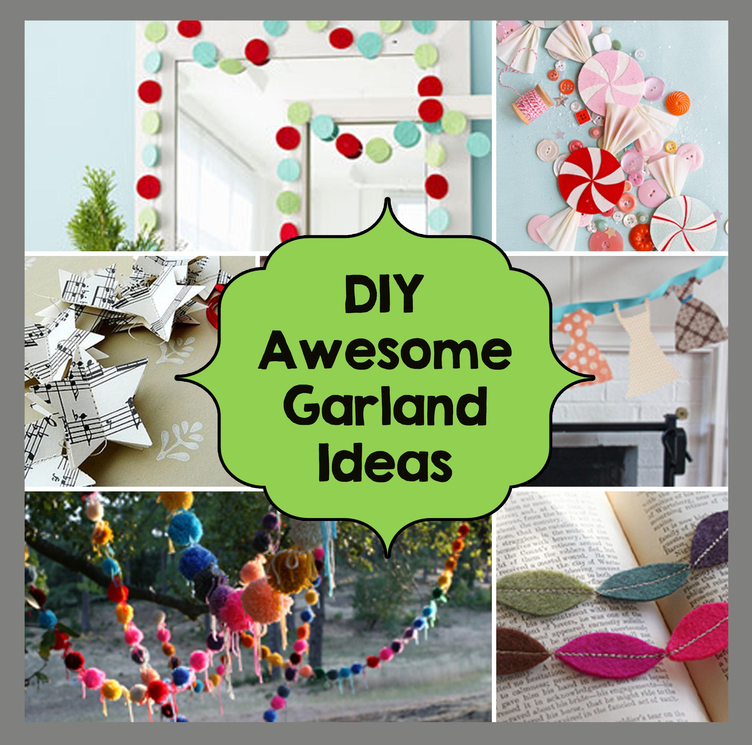 DIY Awesome Garland Ideas