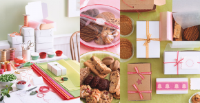 Creative Wrappings for Holiday Home Made Gifts and Cookies