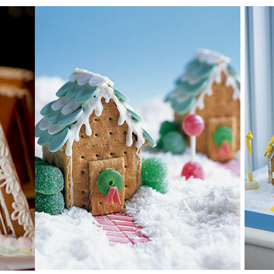 Gingerbread houses and more!