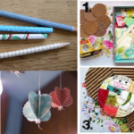 Quick and easy ways to use up paper scraps