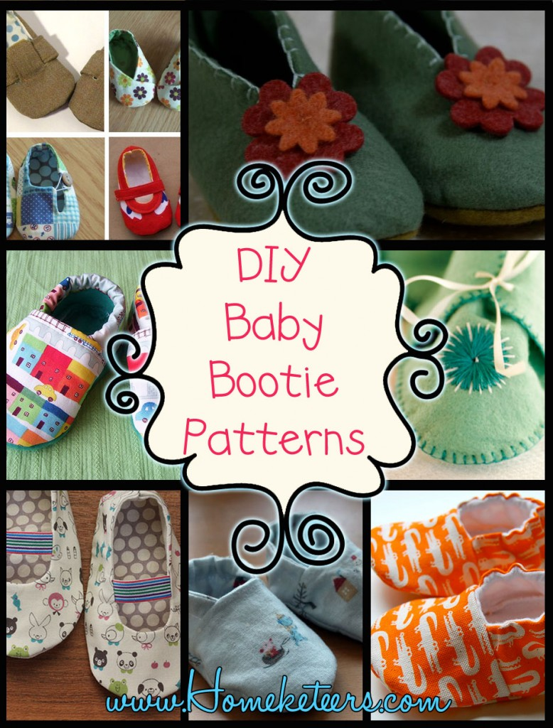 DIY Baby Bootie Patterns