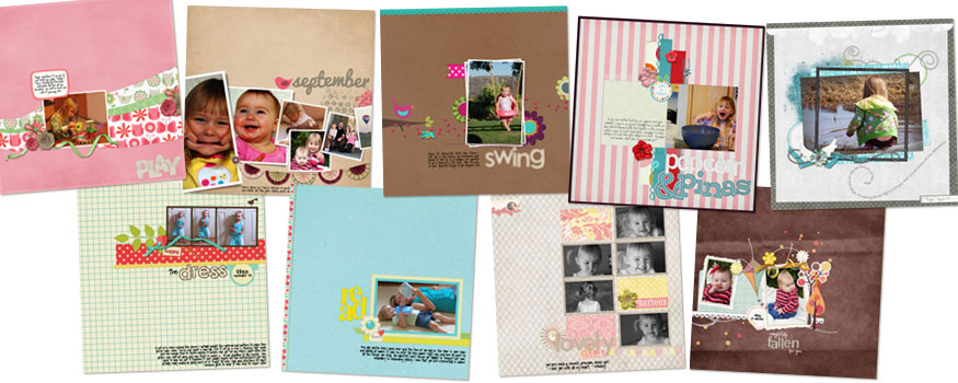 digiscrap pages