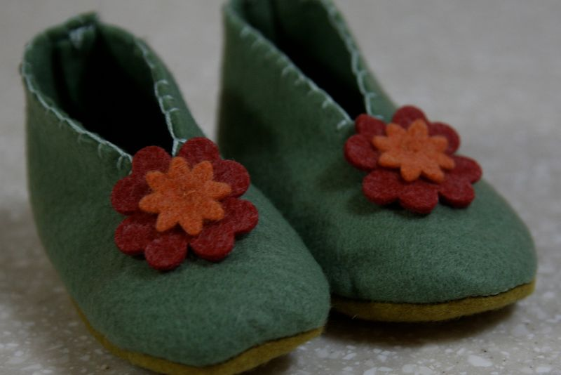 Free Baby Bootie Pattern - Baby Sandals Pattern - Baby Shoes Pattern
