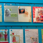 Create a Scrapbook Display Wall