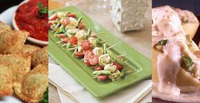 Pasta Appetizer Recipes