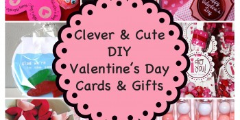 Cute & Clever DIY Valentine's Day Cards & Gifts