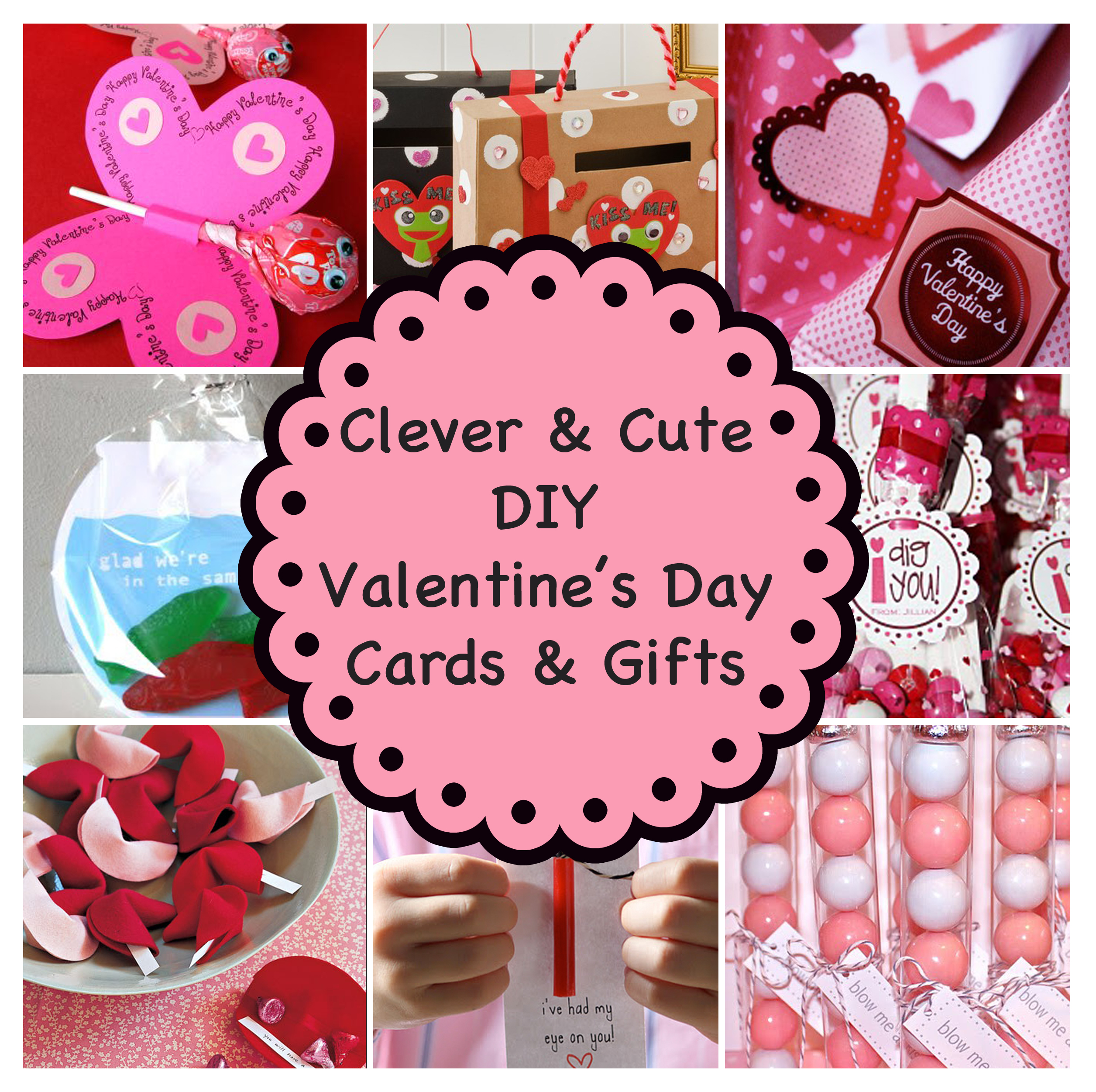 Clever and Cute DIY Valentines Day Cards Gifts – How to Make a Cute Valentines Day Card