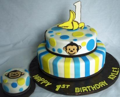 Super Cute First Birthday Cakes Boys and Girls