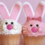 Pink-and-White-Easter-Bunny-Cupcakes