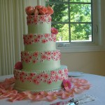 Pink_decorated_wedding_cake_tiered