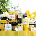 black and yellow candy bar