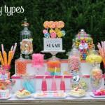 candy buffet types