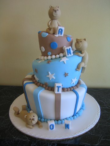 Super Cute First Birthday Cakes, Boys and Girls