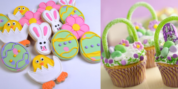Easter cookies and cupcakes idea gallery