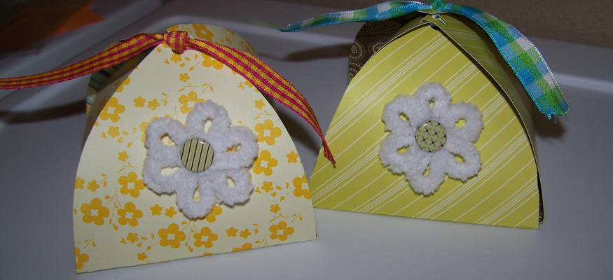 How To Make Petal Boxes