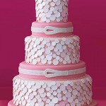 round-modern-pink-wedding-cake
