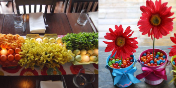 Idea Gallery for Decorating the Table for Easter