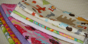 Tutorial: Make your own cloth baby wipes