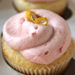 Lemon Cupcakes with Strawberry Buttercream from baked PErfection