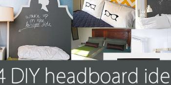 34 DIY Headboards