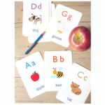 Free Alphabet Flash Card Printables