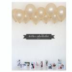 DIY Balloon Chandelier {tutorial}