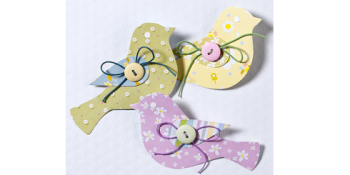 Paper Bird Embellishment {tutorial}