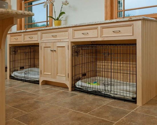 Built-in Dog Kennels