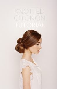 chignon-wedding-hair-tutorial2