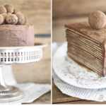 Chocolate Amaretto Crêpe Cake {tutorial}