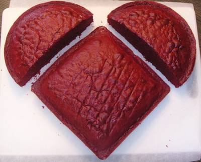 Making a Heart Shaped Cake – Tutorial