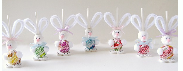 Little Bunny Dum Dums {tutorial}
