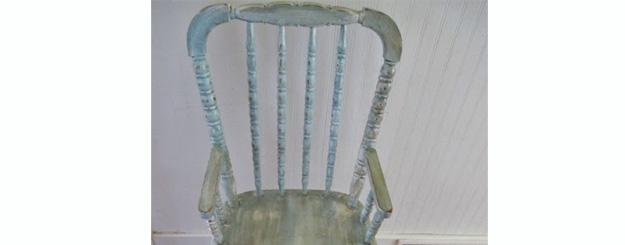 How to Refinish a Vintage Highchair ~ Tutorial