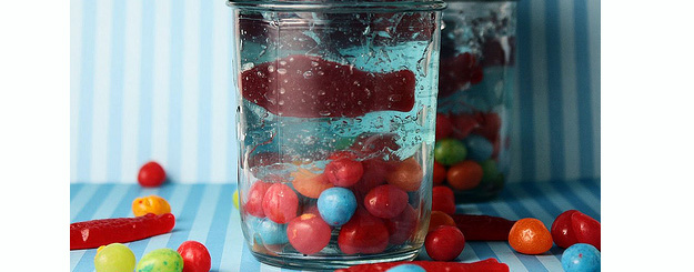Mini Jello Aquariums – Tutorial
