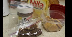 Quick Nutella Kids Snack Pack DIY