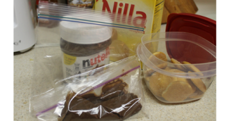 Quick Nutella Kids Snack Pack DIY