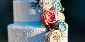 Gorgeous Paper Wedding Cake  ~ Tutorial