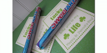 St. Patrick's Day Candy Gram Printable {free}