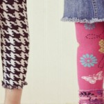 DIY Turn Tights into Leggings ~ Tutorial