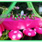 Make Toadstool Chairs for a Fairy Party – Tutorial
