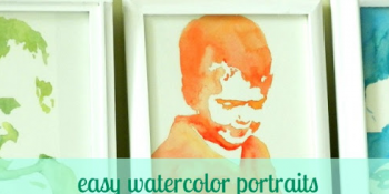 Easy Water Color Portraits