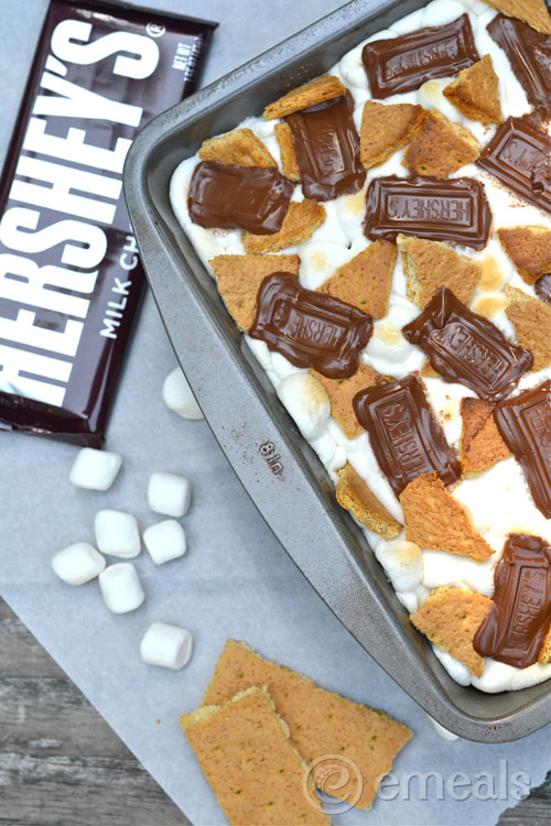 Smores-Brownies