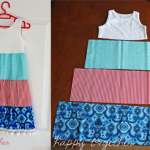 Easy Sew Girls Dress {FREE pattern}