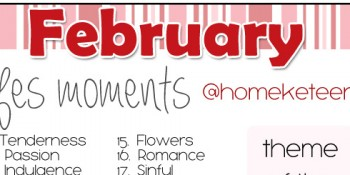 February Photo Challenge! Grab your camera phone