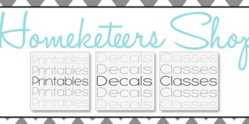 Announcing Homeketeers New Shop