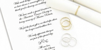 Give Your Wedding Guests The Gift Of Good Will