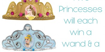 Disney Princess Party Accessories & Contest