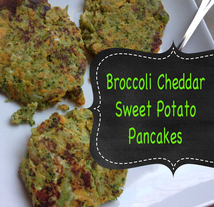hidden veggies recipe broccoli cheddar sweet potato pancakes