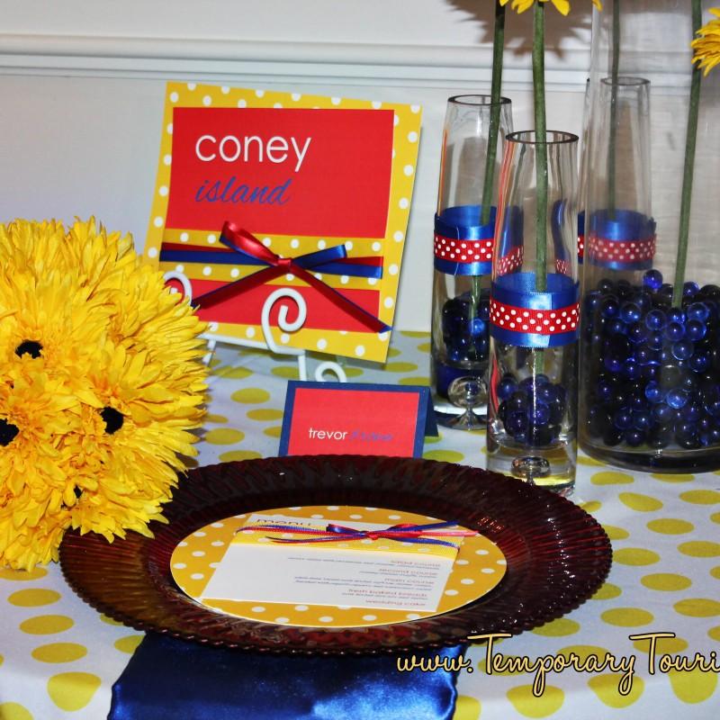 Coney Island Wedding or Party Disney Style