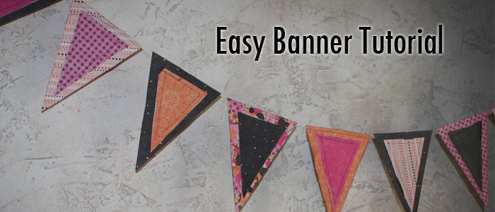 How to Make an Easy Party Banner – Tutorial